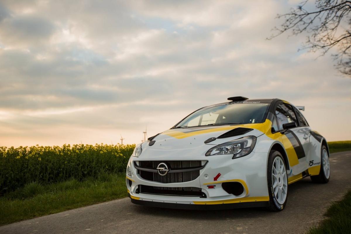 Opel Corsa R5 : en warning, dans l'attente.