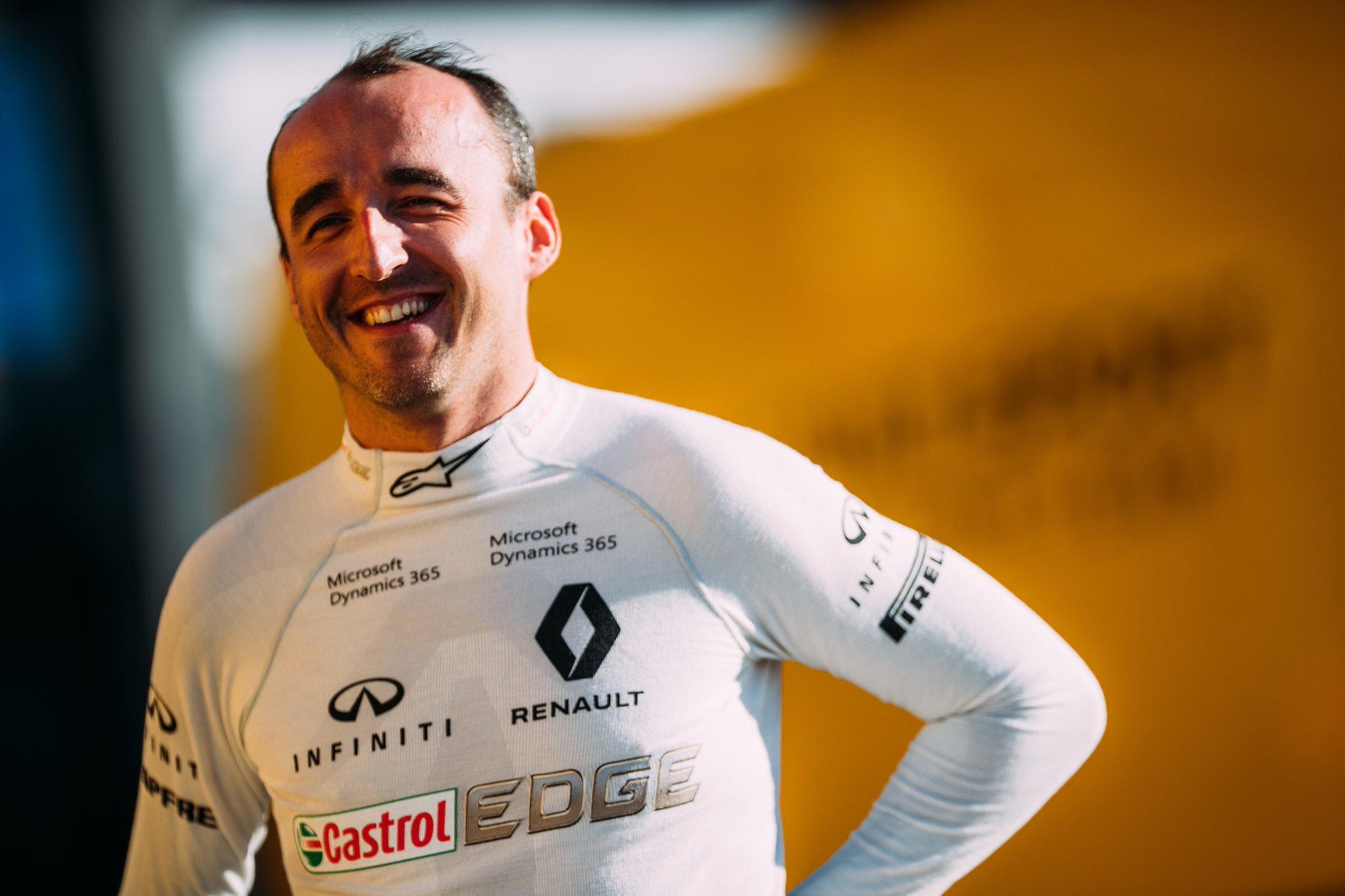 La renaissance Kubica