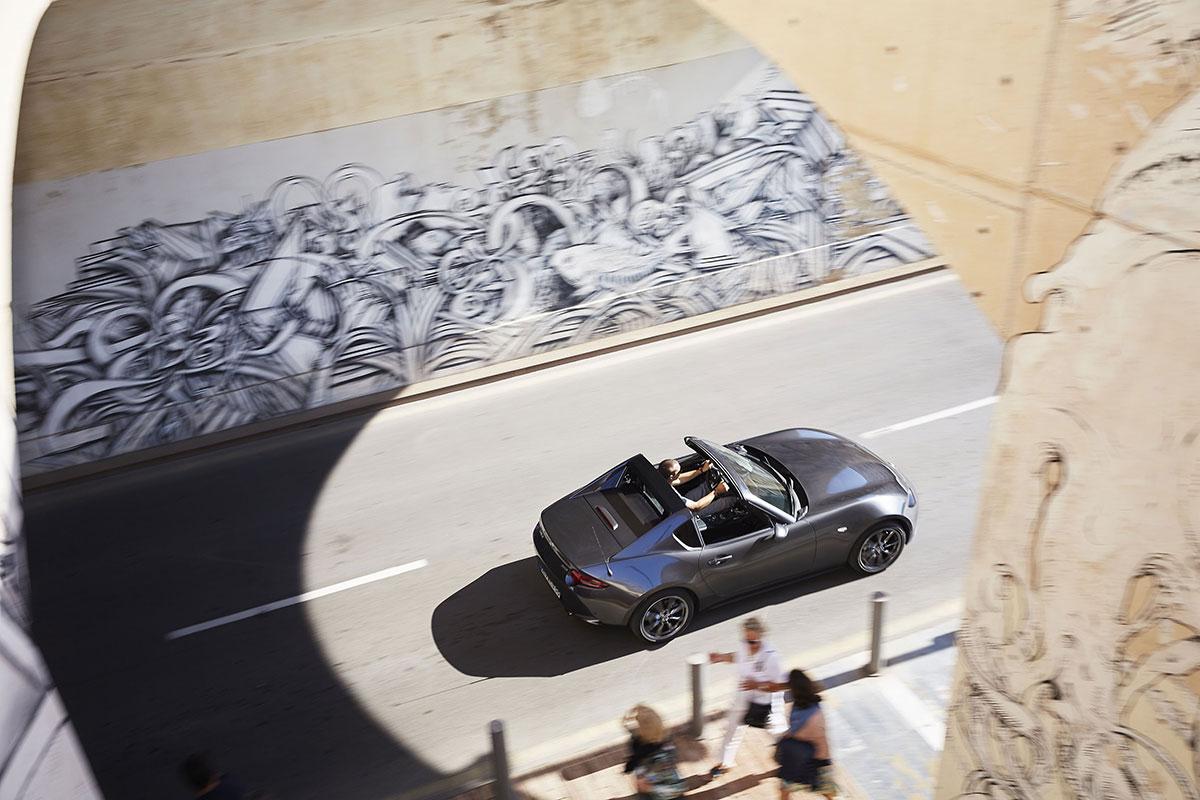 Essai Mazda MX-5 RF: coup de soleil