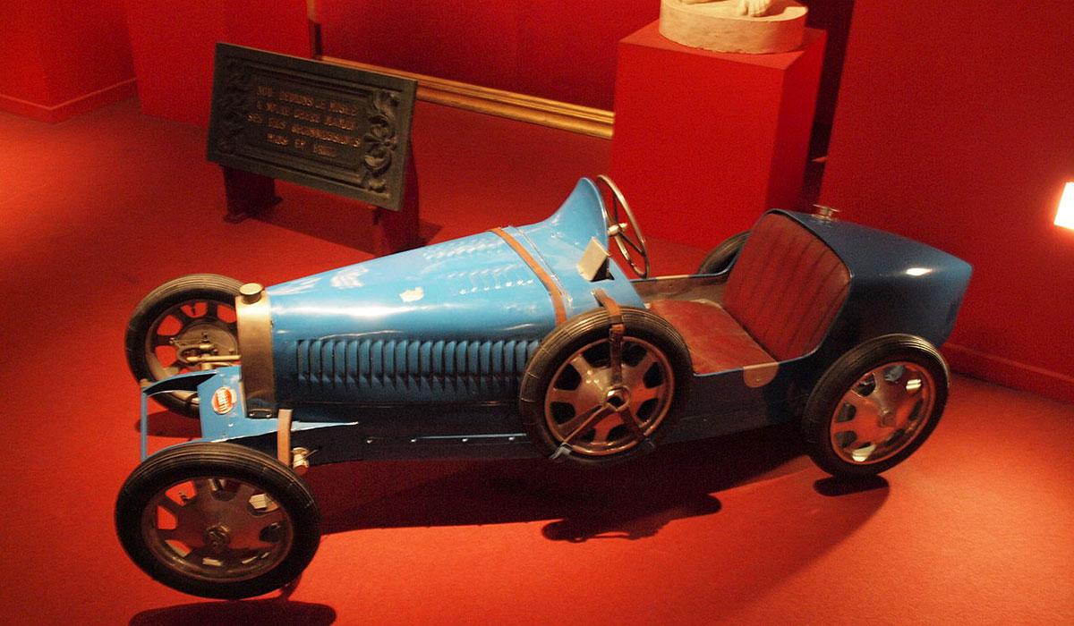 La première Bugatti électrique