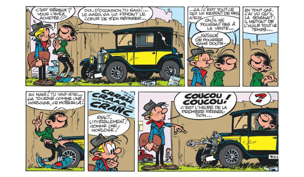 Comment Gaston Lagaffe a-t-il choisi sa FIAT 509?