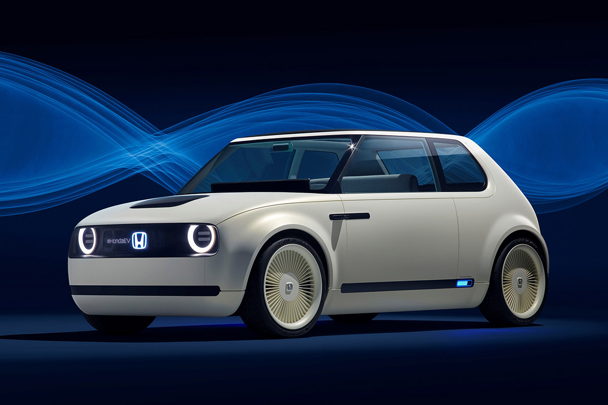 Non, la Honda Urban EV Concept n'est pas inspirée de la VW Golf MK1…
