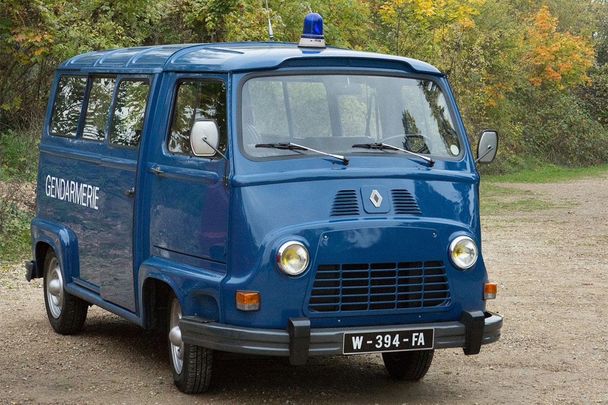Essai Renault Estafette : Gendarmerie Nationale