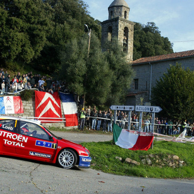 Sébastien Loeb et le Tour de Corse : 2005