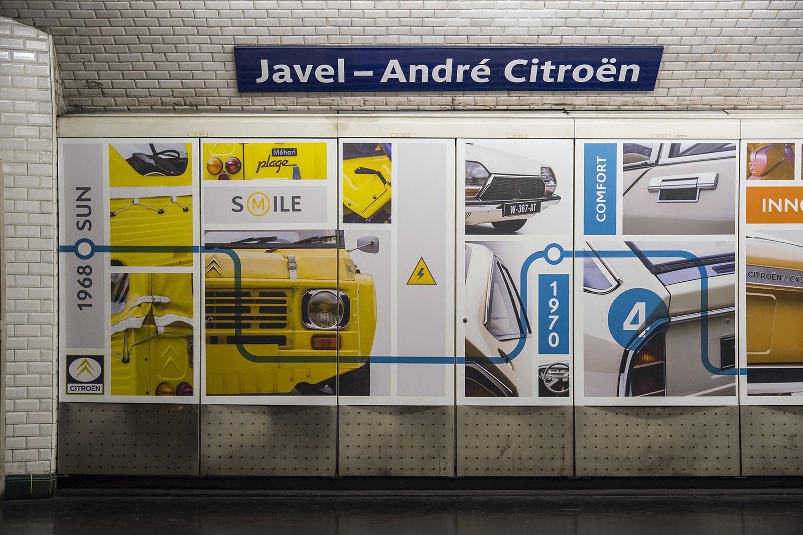 Paris. Station Javel-André Citroën