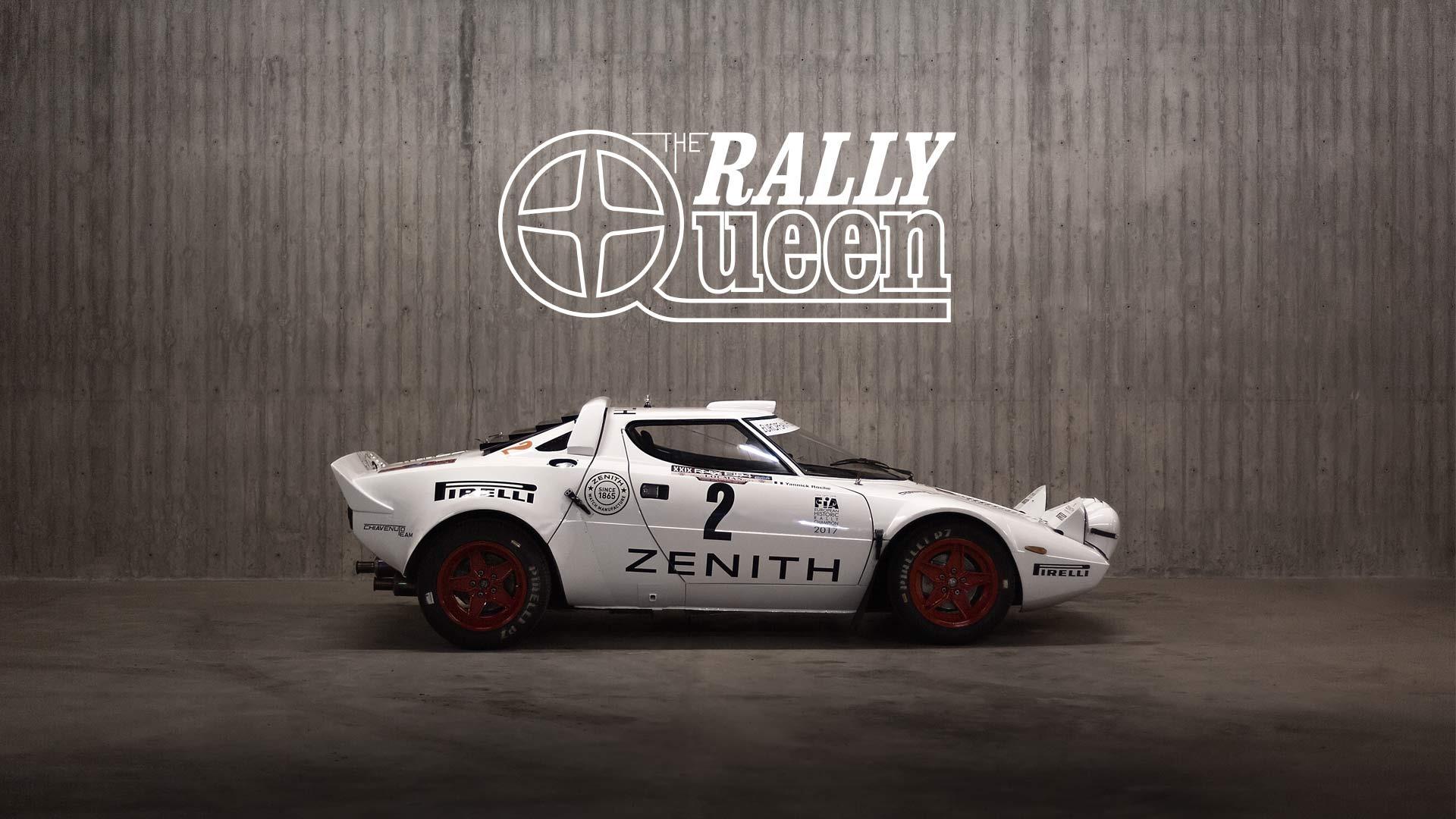 Lancia Stratos : the rally queen