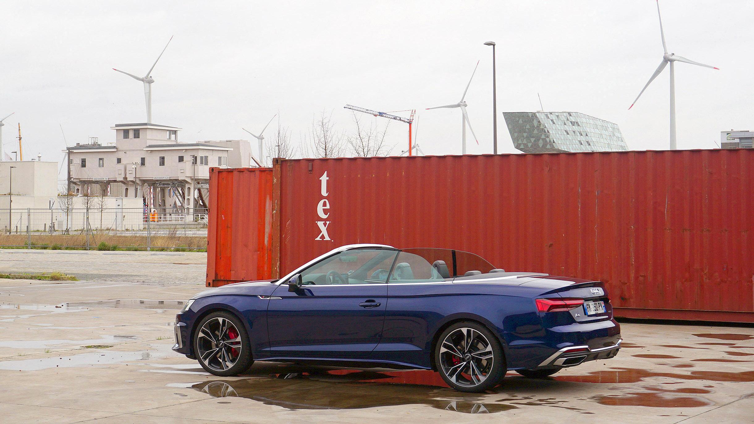 Contact, quelques heures en Audi A5 Cabriolet 50 TDI 286 ch quattro tiptronic 8
