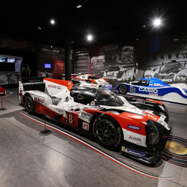 La Toyota TS050 Hybrid entre au Musée des 24 Heures du Mans