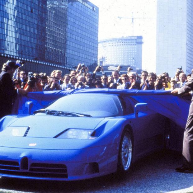 Les 30 ans de la Bugatti EB110